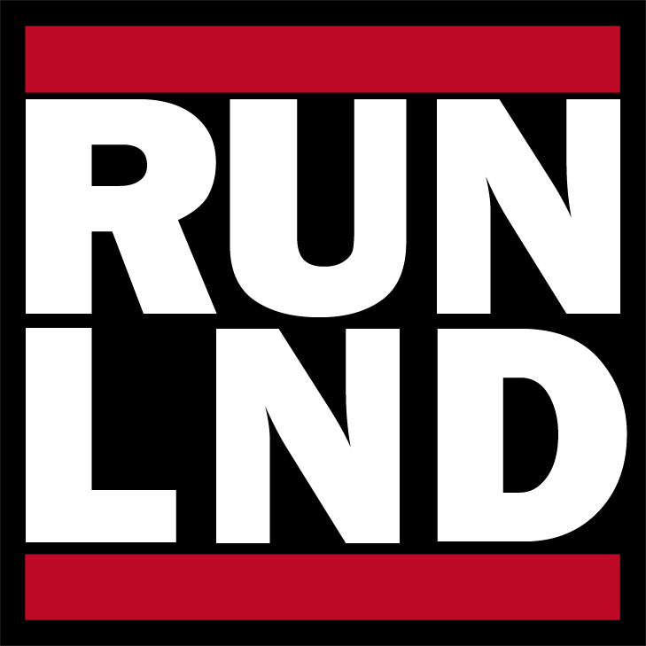 RUN LND Bitcoin Sticker