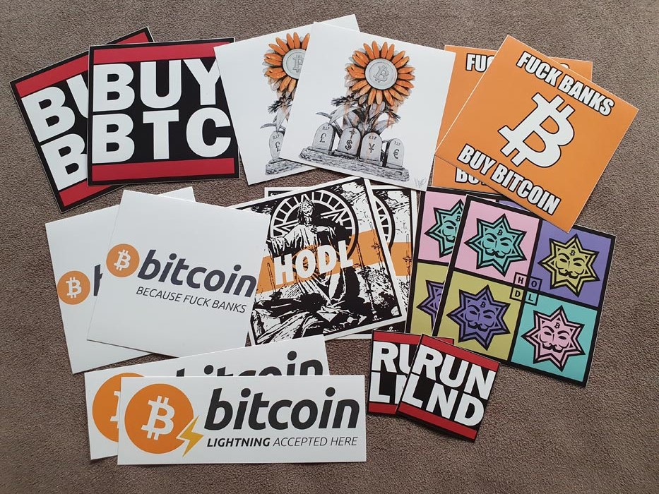 bitcoin sticker pack