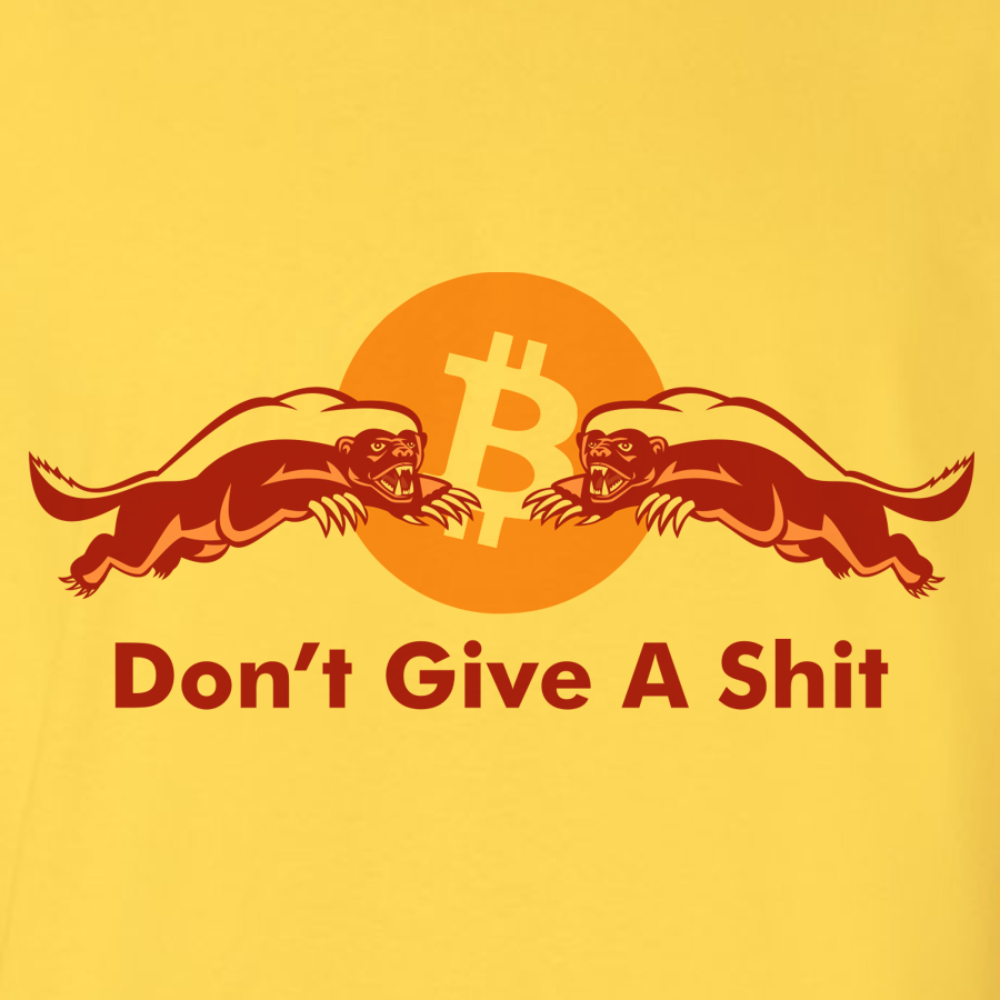 Bitcoin dont give a shit