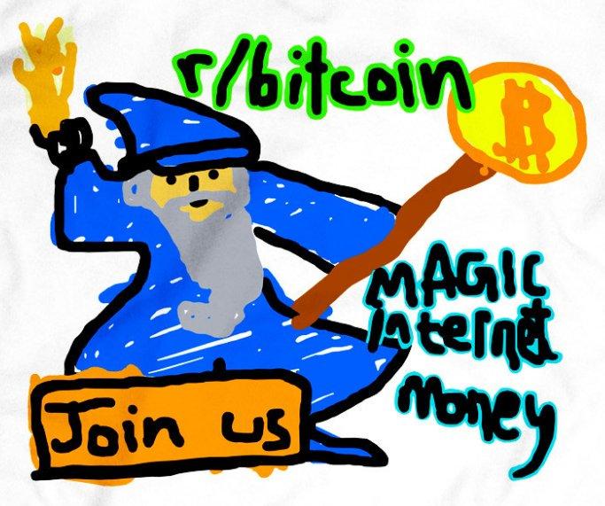 r/bitcoin Wizard Ad