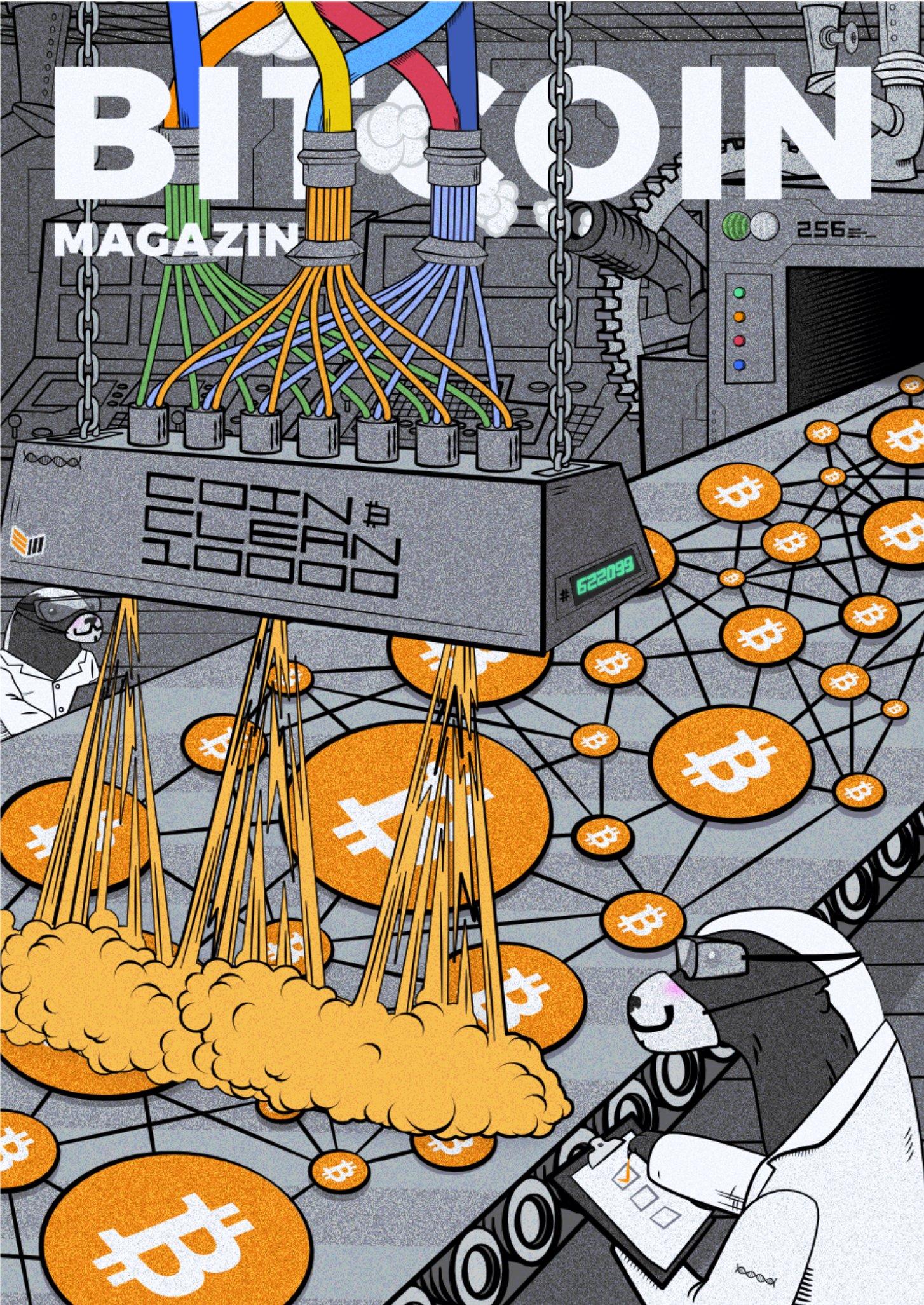 Bitcoin assembly line