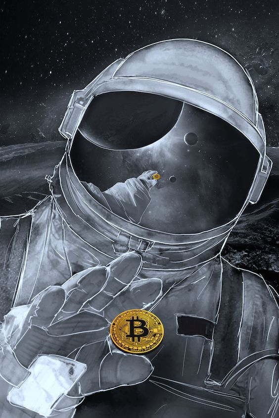 Bitcoin Astronaut