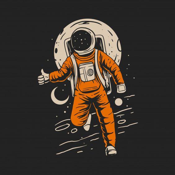 Moon Astronaut