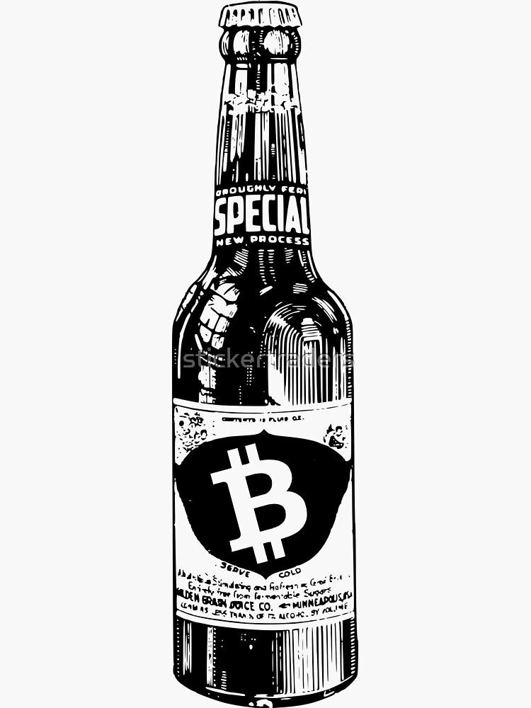 Bitcoin beer