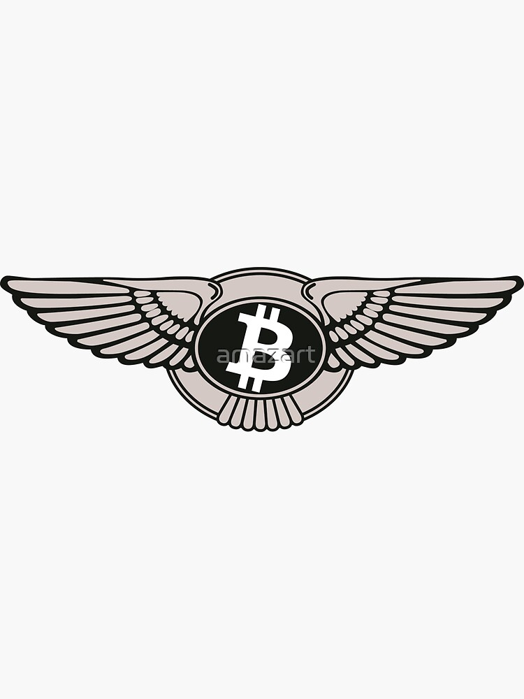 Bitcoin Bentley Logo