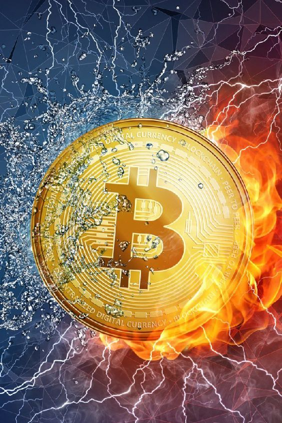 Bitcoin Fire and ice