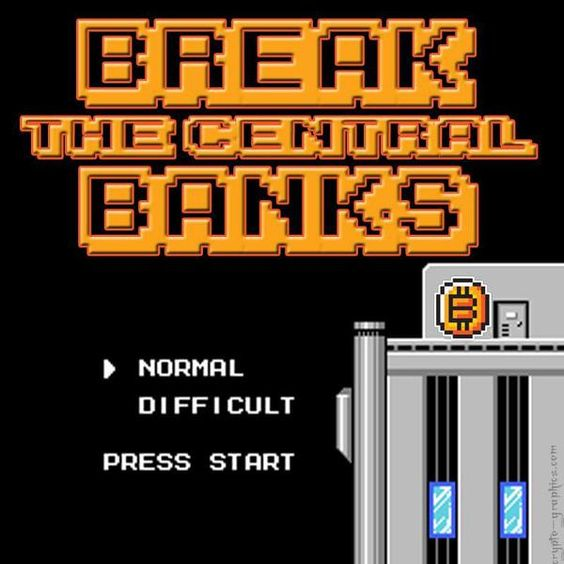 Break the central banks