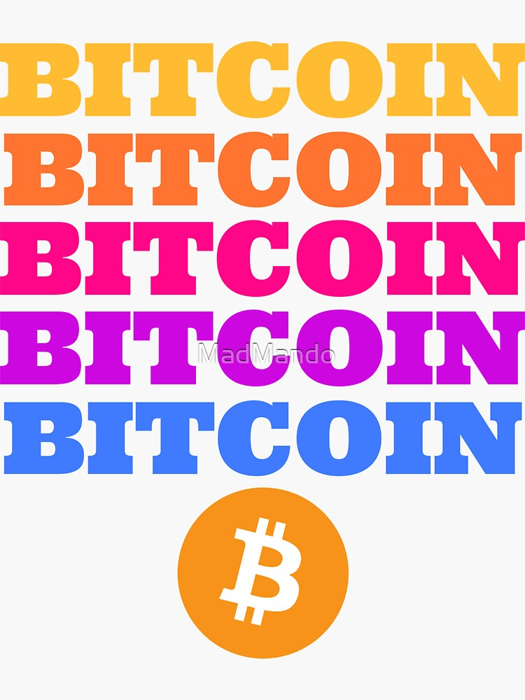 Bitcoin 5 color