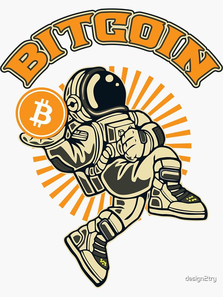 dunking bitcoin astronaut 2