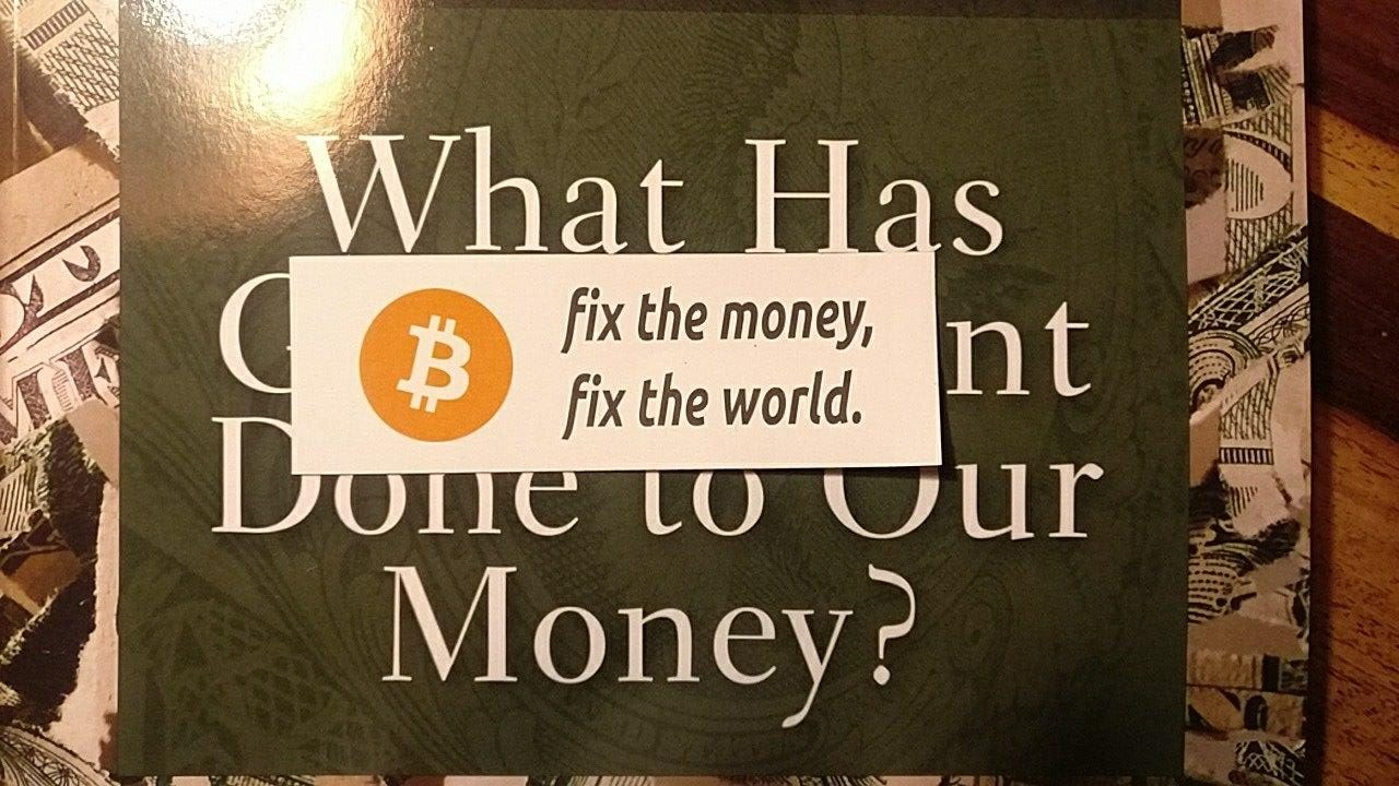 Bitcoin: What Has Government Done to Our Money?