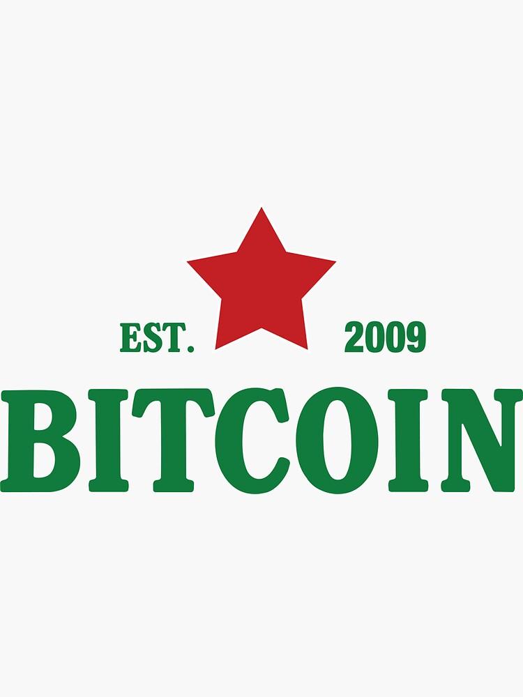 Bitcoin Heineken Logo