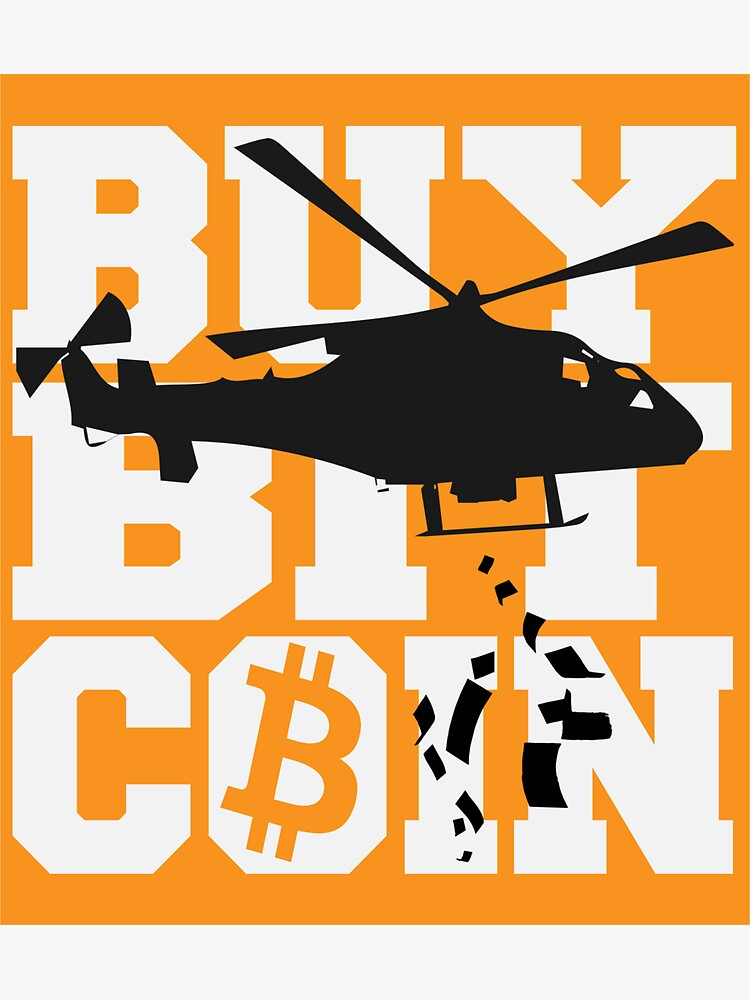 Bitcoin vs Helicopter money