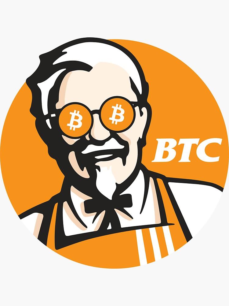Bitcoin KFC Logo