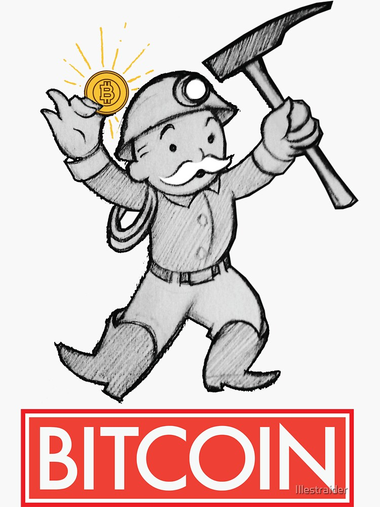 Bitcoin Monopoly man