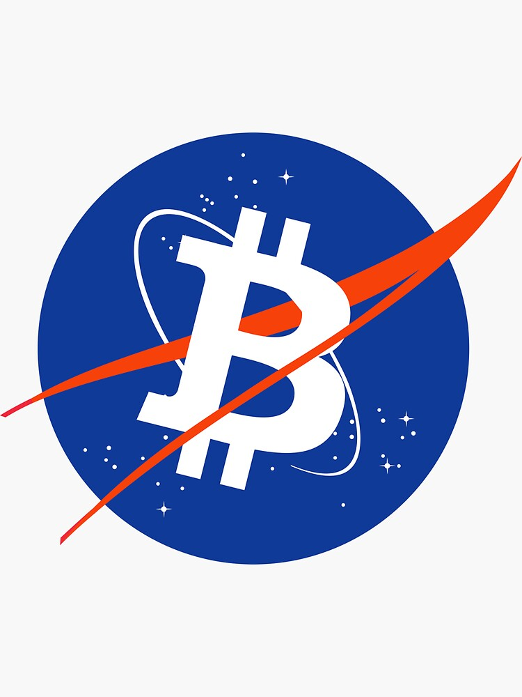 Bitcoin Nasa Logo