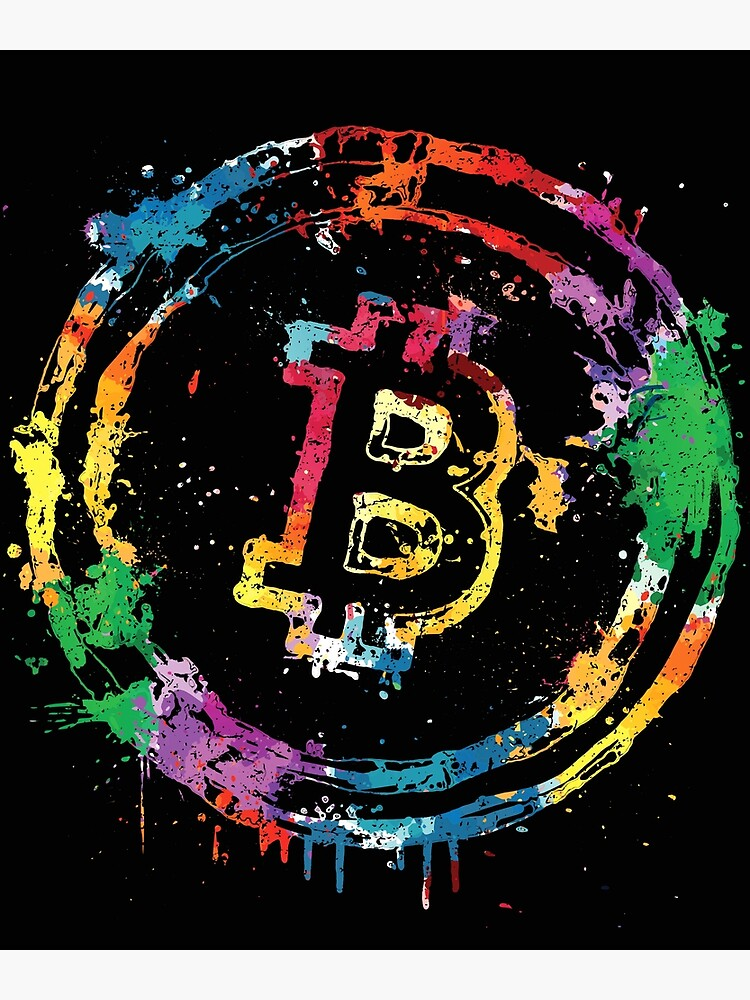 Bitcoin color splash