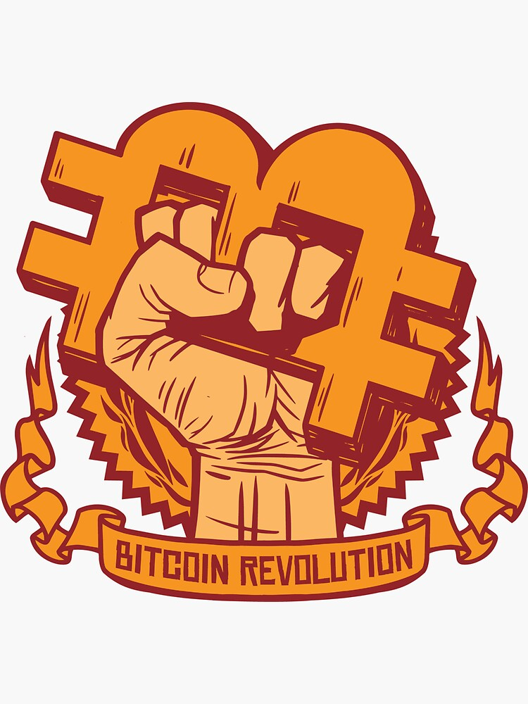 Bitcoin Revolution Fist