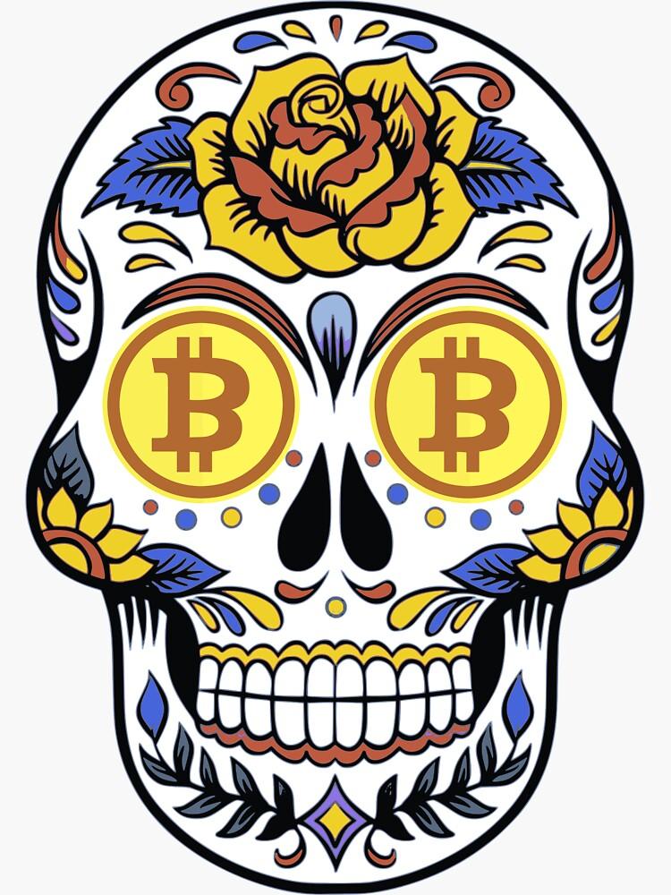 Bitcoin skull
