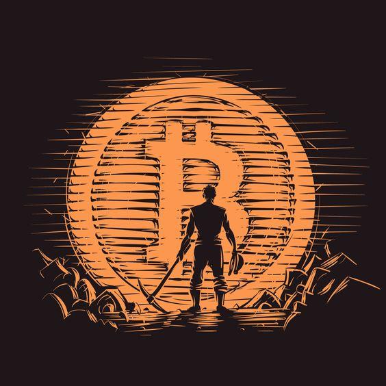 Bitcoin Sun Set