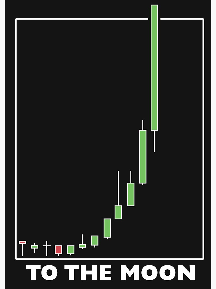 Bitcoin Chart to the moon
