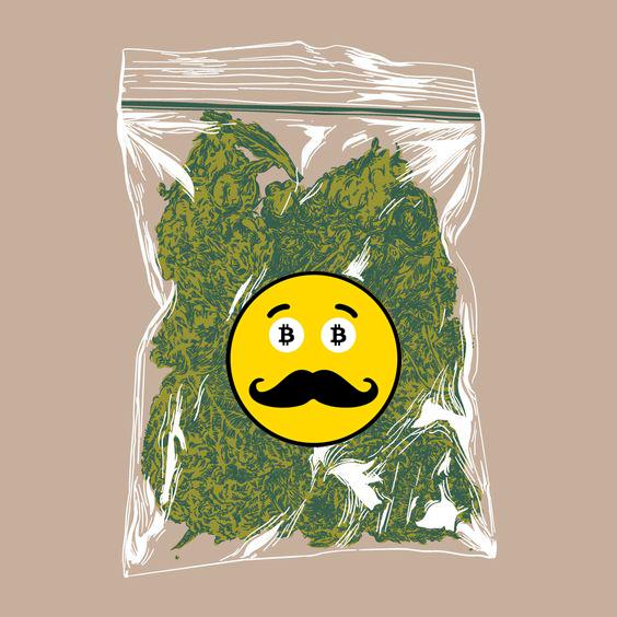 Bitcoin weed